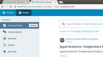 WordPressReader