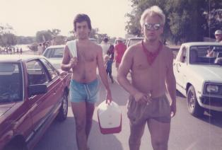 SteveAndBamBam_August_1985_Austin